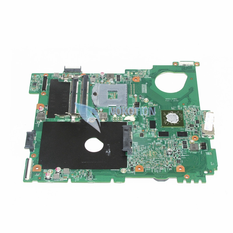 NOKOTION CN-0F3GY0 0F3GY0 F3GY0 Laptop Motherboard For Dell Vostro 3550 HM67 DDR3 s988b Mainboard works high quanlity laptop motherboard fit for dell vostro 3500 cn 0pn6m9 0pn6m9 pn6m9 mother board