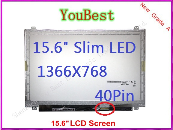 """Dell Inspiron P28F 15.6/"""" LCD LED SLIM LAPTOP SCREEN Display New Grade A+"""