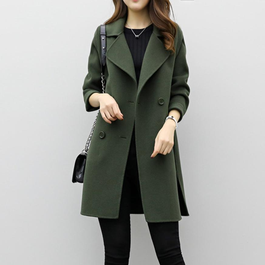 2019 new hot sale woman wool coat high quality winter. Black Bedroom Furniture Sets. Home Design Ideas