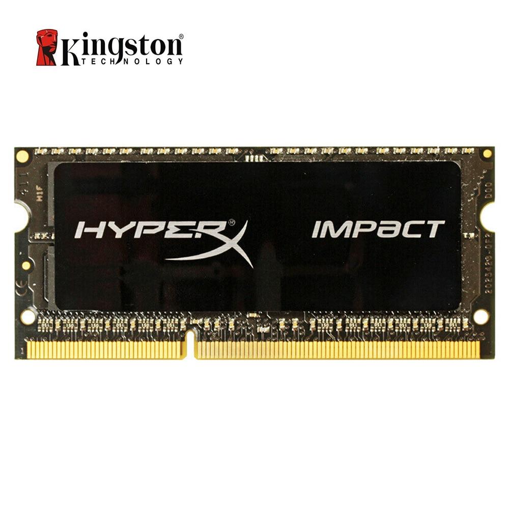 Kingston HyperX Impact RAM DDR3 DDR3L 4GB 8GB 1600MHz CL9 SODIMM 1.35V Laptop Memory HX316LS9IB/8 Black