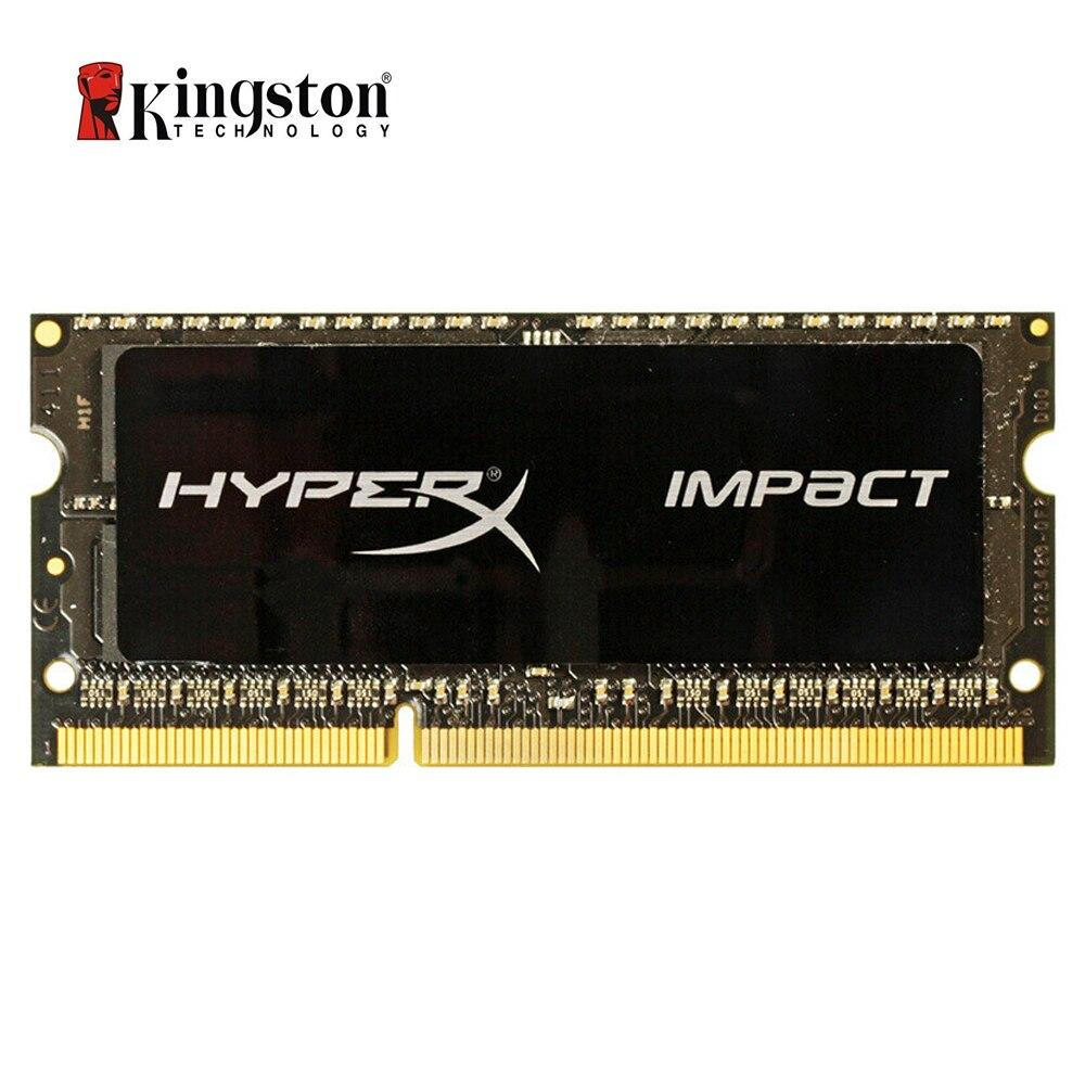 Kingston HyperX Impact RAM DDR3 DDR3L 4 GB 8 GB 1600 MHz CL9 SODIMM 1.35 V mémoire d'ordinateur portable HX316LS9IB/8 noir