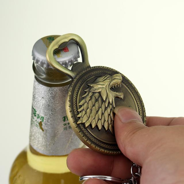 Stark Winter Is Coming Bottle Opener
