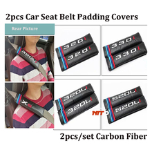 Carbob Fiber 2pcs/set Auto logo badge for bmw 320i 330i 320li 520li ca