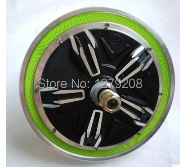 Electric single wheel /self balancing unicycle 48V 500W 14 inches 620RPM Brushless Non gear Hub motor