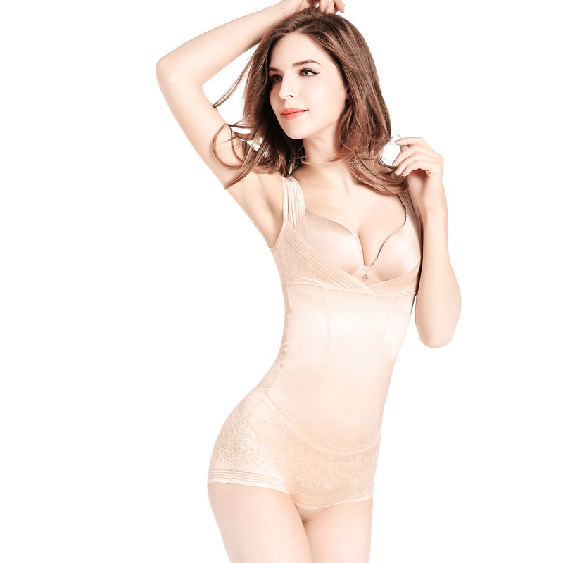 e0c1e293dc1 COLLEER Women Sexy Corset Postpartum Thin Waist Slimming Bodysuit Improve  hips Shapewear High Elastic Body Shapers-in Bodysuits from Underwear    Sleepwears ...