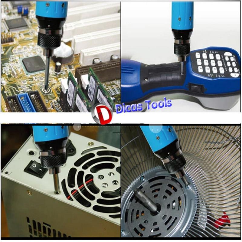 220-240v cacciavite elettrico spina dritta regolazione della coppia a - Utensili elettrici - Fotografia 3