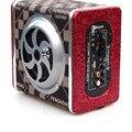 4-дюймовый Bluetooth Автомобильный Сабвуфер 12 В/220 В Высокой Мощности 120 Вт Активные Колонки Автомобильный Звук Дистанционного Управления SD/USB Флэш-Диск