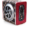 4' polegadas Bluetooth Subwoofer Carro 12 V/220 V Controle Remoto de Alta Potência 120 W Alto-falantes Ativos De Som Automotivo SD/USB Flash Disk