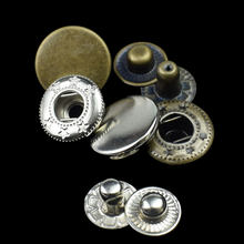 50PCS Metal Press Studs Sewing Button Snap Button Fasteners Sewing Leather Craft Clothes Bags Garment DIY Apparel Accessories(China)