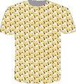 2015 новинка с коротким рукавом женщины / мужчины 3d майка смешно корги косоглазия-глаза печать мультфильм футболка camisetas Большой размер бесплатная доставка