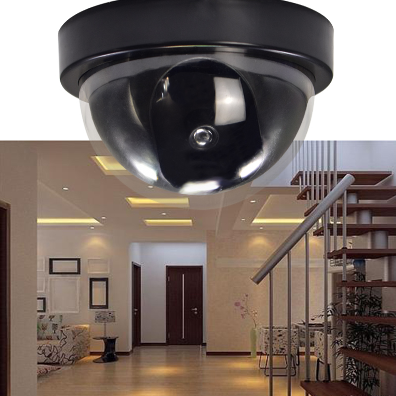 FGHGF Dummy Fake Camera Outdoor Indoor Fake Surveillance Camera Dome CCTV Security Camera With Flashing Red LED Light Hot Sale