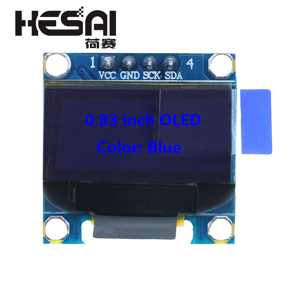 0.83 Inch Blue OLED Module New 96X39 OLED LCD LED Display Module 0.83 For Arduino Diy Kit