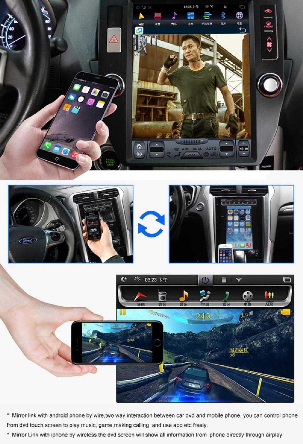Flash Deal Navirider Android 7.1 radio tape recorder 4-Core 2GB RAM 32GB rom tesla vertical screen for Toyota  Land cruiser 2012 head units 11