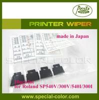 10 шт./лот [сделано в Японии] Roland SP540v/300 В/540i/300i стеклоочиститель принтер DX4 растворителя wipper