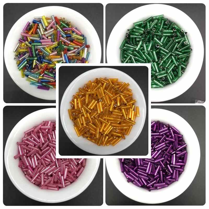 6*2mm 200pcs/lot Glass Bead DIY Handmade Beads Jewelry Accessories Simple Fashion For Bracelet Necklace Pretty Leisure Cheap