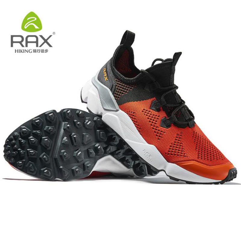 Rax Men Professional Hiking Shoes Breathable Trekking Boots Original Outdoor Sport Sneaker For Man Camping Climbing Shoes 39-46