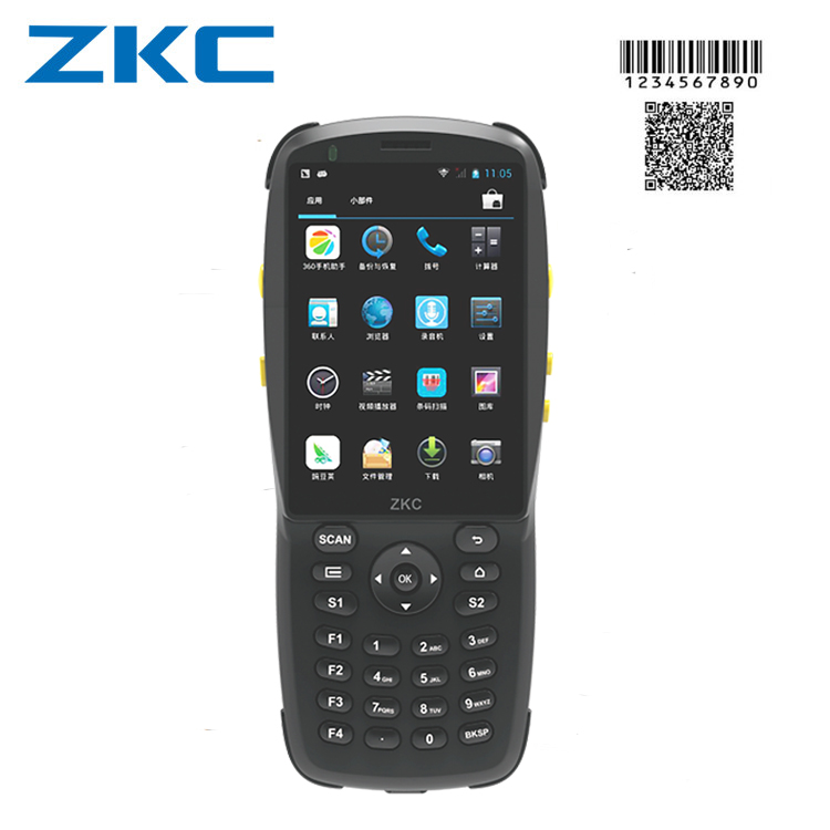 Data collector device wireless handheld pda with QR code scanner 3G WIFI Bluetooth NFC and touch screen