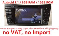 7 Android 7,1 для BENZ w211 2din автомобильный dvd, навигация gps, Wi Fi, радио, bluetooth, руль Canbus Бесплатная 8 г map микрофоном, сенсорный экран