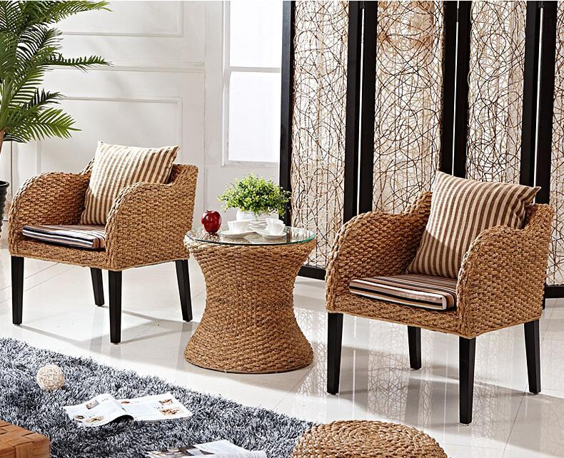 2018 New Style Design Ratten Sofa Living Room Furniture Belcony Rattan Chair 9032 Living Room Sets Aliexpress