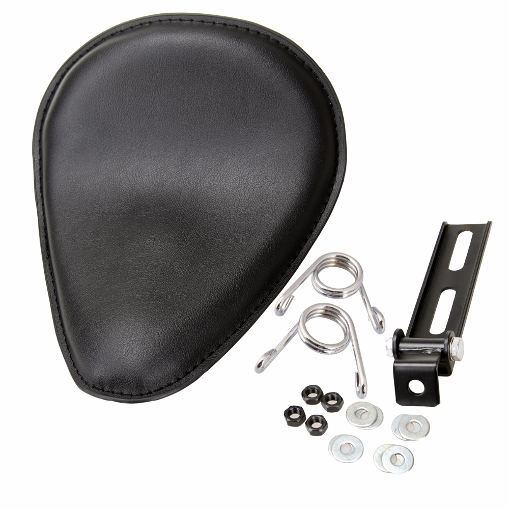 (Ship from Germany) Motorcycle Solo Leather Seat Spring Bracket For Harley Honda Sportster Bobber