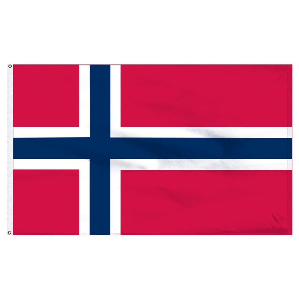 90*150cm Kongeriket Noreg Norge nor no norway flag For Decoration image
