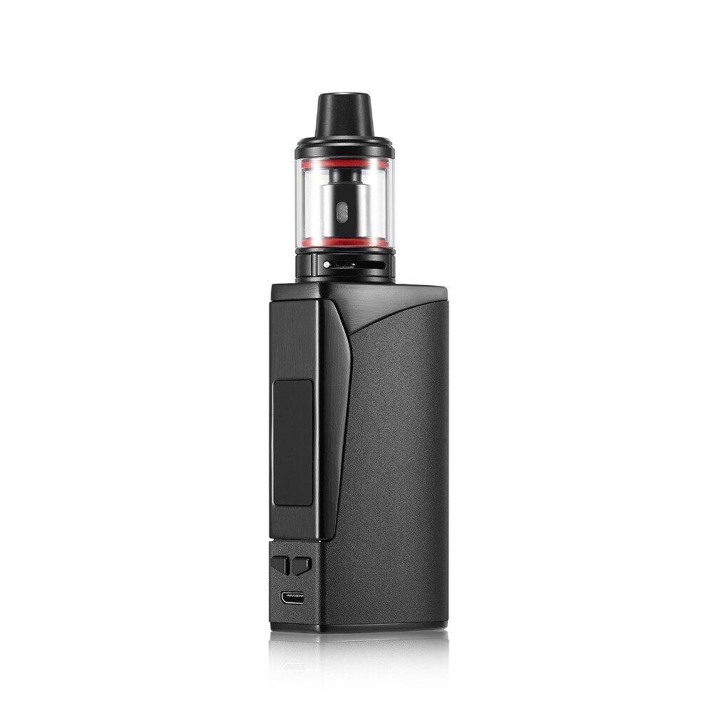 New Seal 100w vape kit 3000mah with LED Screen USB Charger Box Shape Pen E Cig Smoke Huge Vapor Electronic Cigarette vape Kit
