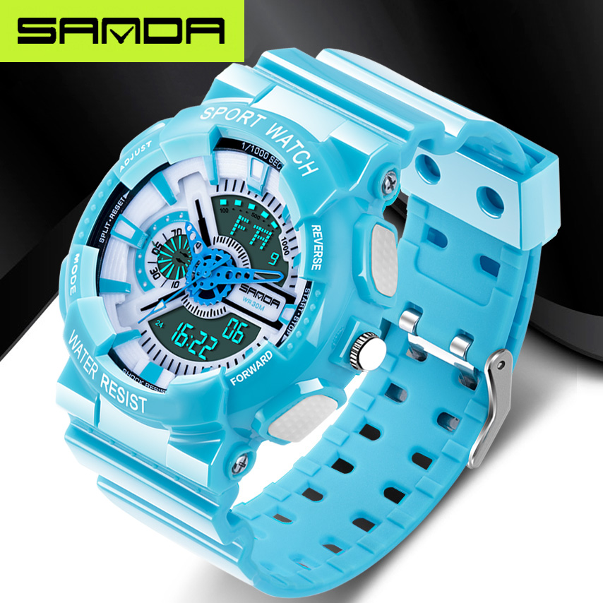 03c6a21efe97d 2018 New Hot Sale Watch Men Sport Waterproof Russian Military G Style S  Shock Watches Men s Luxury Brand Relogio Masculino -in Digital Watches from  Watches ...