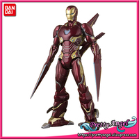 PrettyAngel Genuine BANDAI SPIRITS Exclusive S.H. Figuarts SHF Iron Man MK Mark 50 NANO WEAPON SET Action Figure
