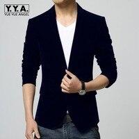 Top Men Winter Autumn M 4XL Men Blazer Slim Fit Navy Red Black Colors Slim Fit