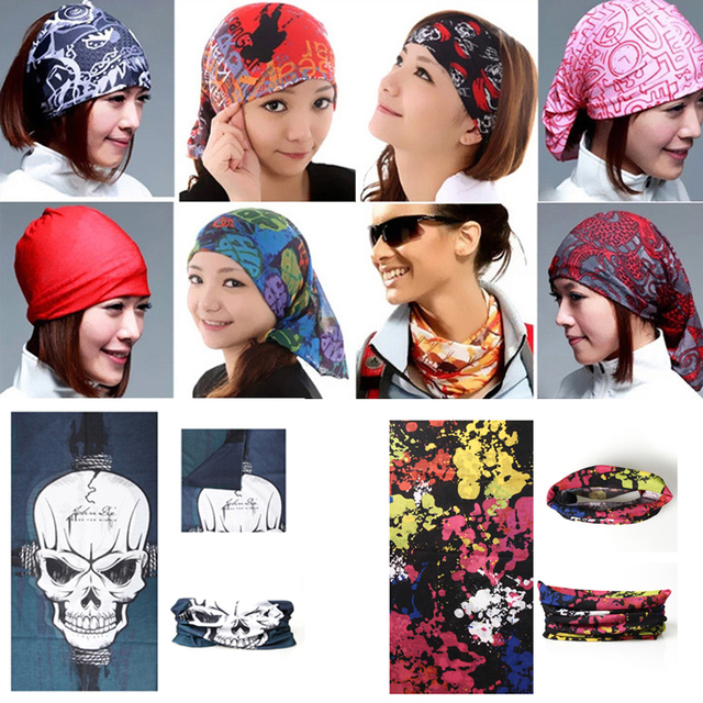 5pcs Flames Skull Motorcycle Scarf Headgear Riding Face Shield Hiking Magic  Seamless Bandanas Multifunctional Headwear Kerchief ae6a5eb432a