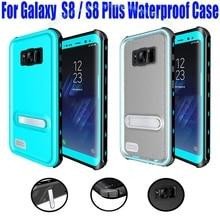 Pour Samsung Galaxy S8 Plus Cas Origine RedPepper Dot Série IP68 Étanche Plongée Sous-Marine PC + TPU Armure Couverture S808