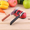 2015 Brand  New 2-Stages Knife Sharpener Abrasive Wheel Sharpening Stone Kitchen Tool Hot Selling