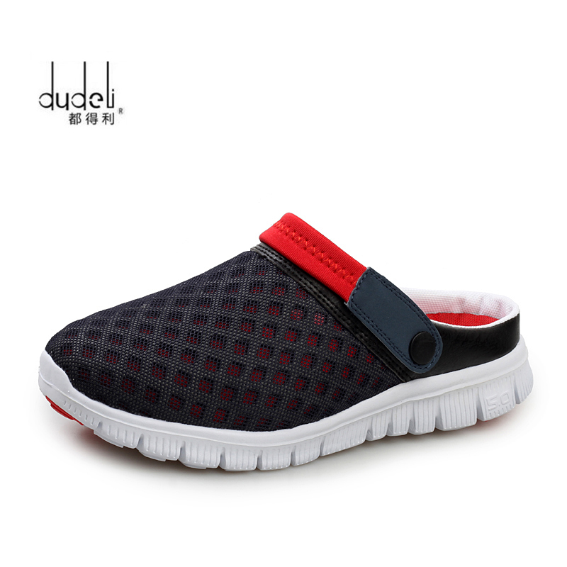 Men Sandals Sneakers Beach-Slippers Summer Shoes Zapatos Zuecos Hombre Size-36-46