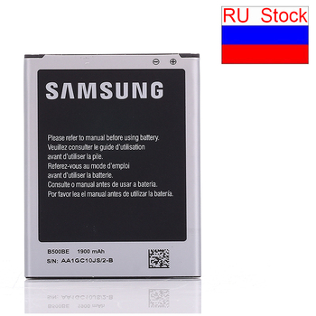 Ship from RU Original Battery bateria B500BE For Samsung GALAXY S4 Mini replacement I9190 I9195 I9192 I9198 1900mah I9195 4pins