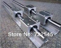 Линейный Железнодорожный Набор Диаметр 20 мм 2xSBR20 1000 мм + 4xSBR20UU блок для ЧПУ Запчасти комплект