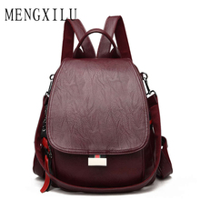 High Quality Women Backpack 2019 Female Brand Back Pack Backpacks Vintage Student Schoolbag Retro Rucksack Mochila Mujer