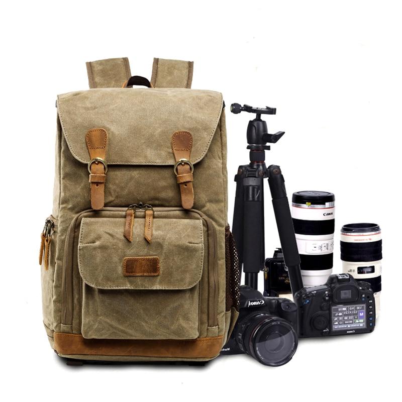 Fashion Batik Canvas Camera Backpack DSLR Waterproof Photography Photo Bag Outdoor travel Large Men for Nikon d90 Canon 6d Sony цена