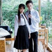 Japanische schuluniform matrosenanzug tops + rock JK stil Studenten kleidung für Mädchen Japanischen schule uniformCheerleader kleidung