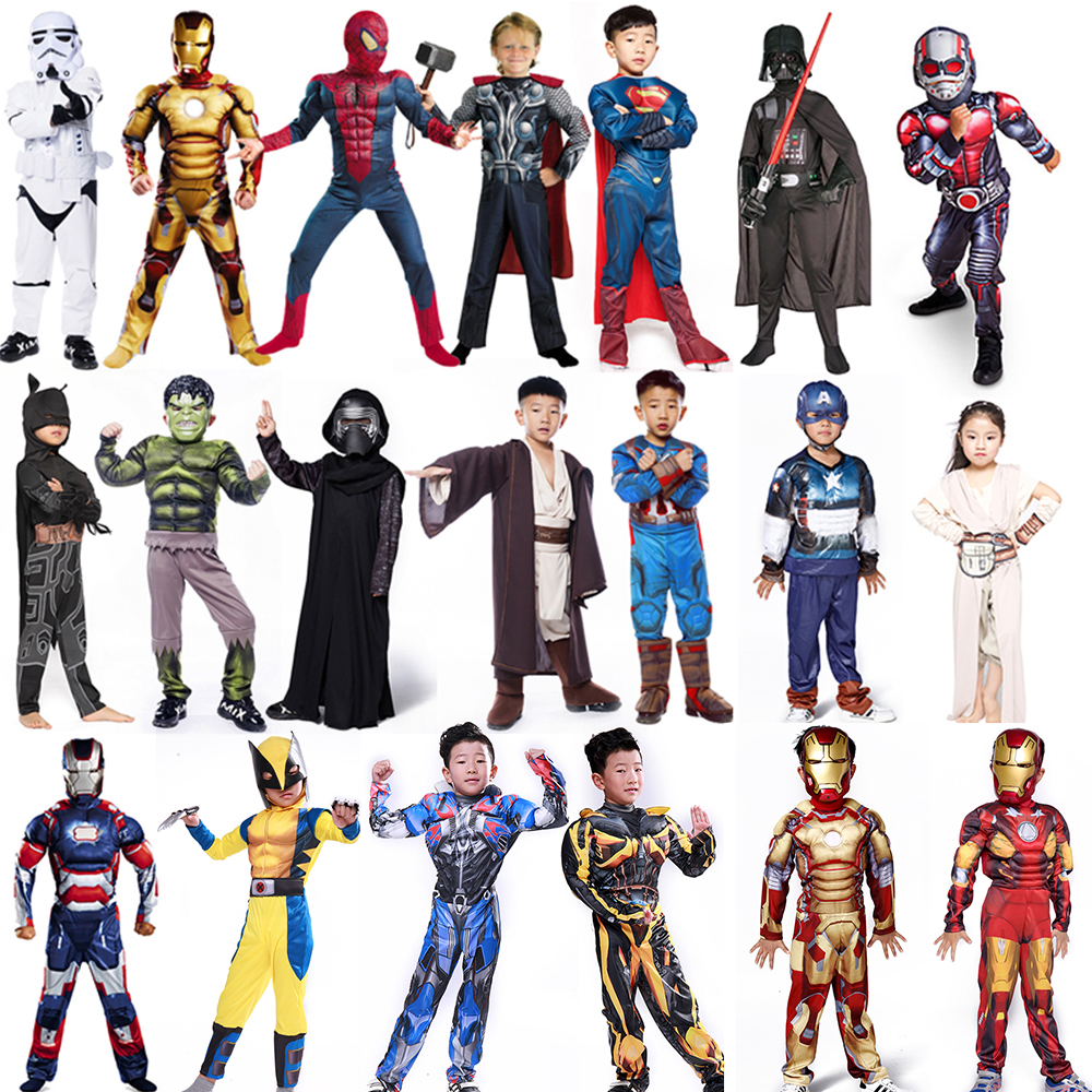 Popular Captain America Costume Child-Buy Cheap Captain America ...