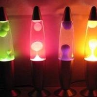 Volcano Style Night Light Cute 220V Metal Base Lava Lamp Wax Jellyfish Nightlight Glare Incandescent Lava Lamps