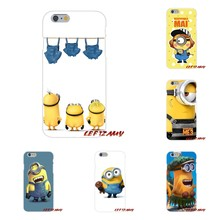Yellow Lovely Minions For Huawei P8 P9 P10 Lite 2017 Honor 4C 5X 5C 6X Mate 7 8 9 10 Pro Accessories Phone Cases Covers(China)