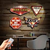 American Vintage Loft Wall Lamps Home Decoration Logo Iron Art Wall Lamp Kitchen Dining & Bar Bedroom Bedside Corridor Fixtures