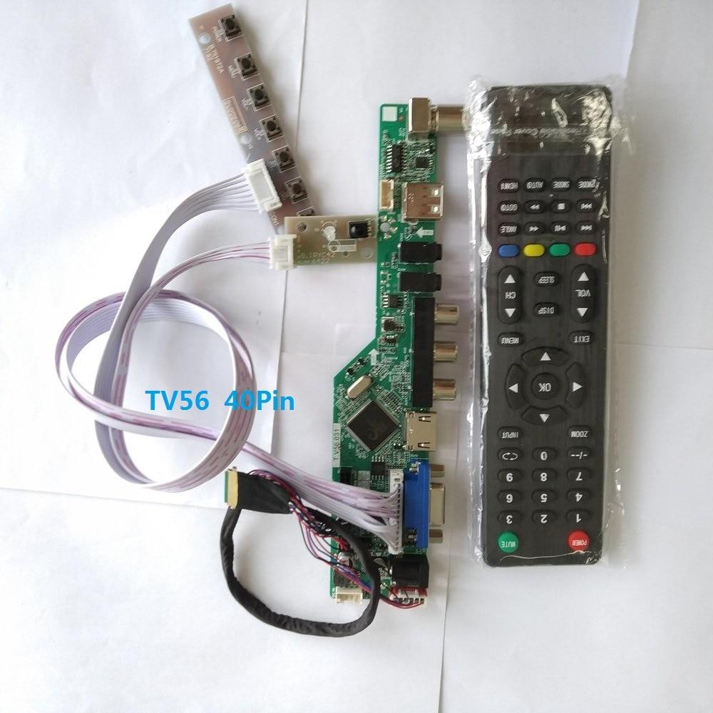 LCD LED screen Controller Driver Board kit for LTN156AT27 TV+HDMI+VGA+USB