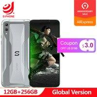 Original Global Version Xiaomi Black Shark 2 12GB 256GB Gaming Phone Snapdragon 855 Octa Core 6.39 AMOLED FHD+ Screen 48MP