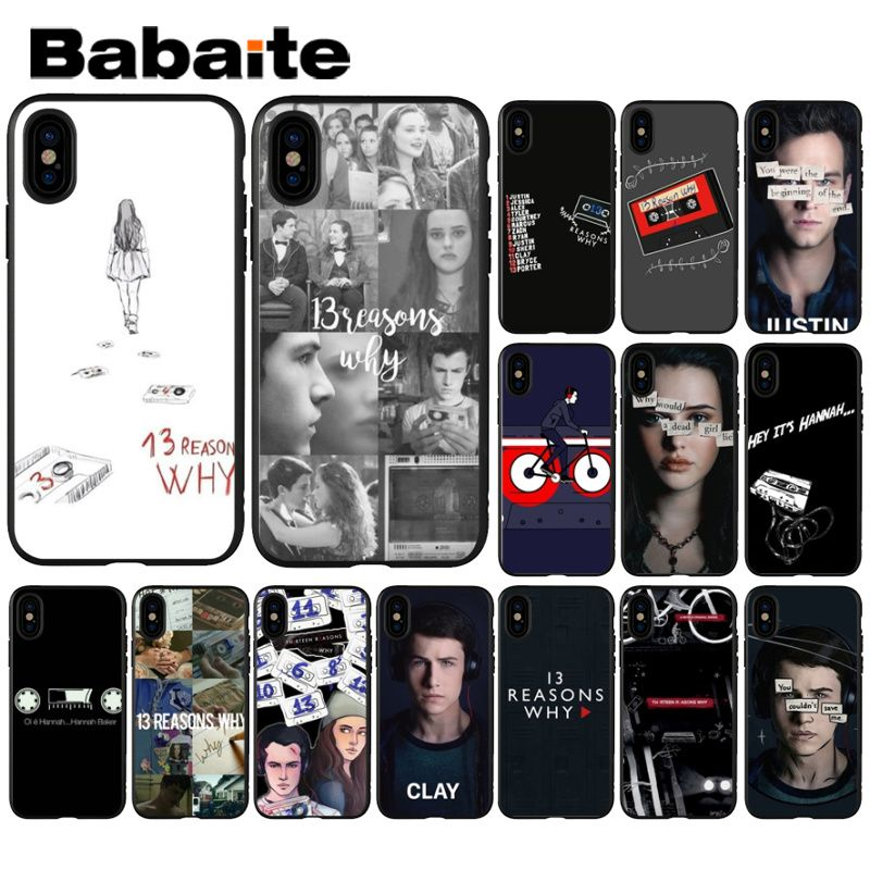 Babaite <font><b>13</b></font> <font><b>Reasons</b></font> <font><b>Why</b></font> Coque Shell <font><b>Phone</b></font> <font><b>Case</b></font> for Apple iPhone 8 7 6 6S Plus X XS MAX 5 5S SE XR Mobile Cover image