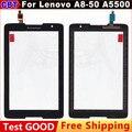 Оригинальный Сенсорный Экран Для Lenovo A5500 A8-50 Tablet B0473 T Сенсорным Экраном Дигитайзер Стеклянная Панель + Бесплатная Доставка