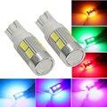 1 PCS T10 194 W5W 10 SMD 5730 DIODO EMISSOR de Luz de Alta potência Do Carro Auto Lâmpada LED Luzes Apuramento Brake Turn Signal lâmpada