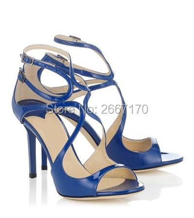 Hebilla Stilettos Party Pic Correa Zapatos Feminina Charol Del Verano As Altos Sandalias as Sexy Toe Cruz Sandalia Pic Tacones Tobillo z4Yxww
