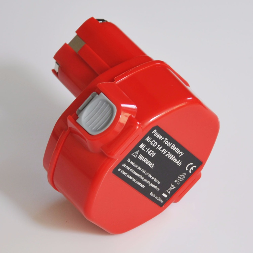 UNITEK 14.4V Ni-Cd rechargeable battery pack 2000mah for makita cordless Electric drill and screwdriver power tools