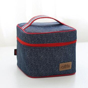 New Women Handbag Bottle Organizer Girls Shoe Bag Lunch Box Bag Folding Storage Bags With The Insulation Function Shoe Bags